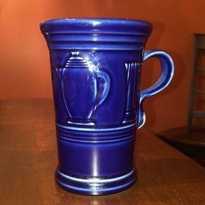 ✨RETIRED✨ Fiestaware Cobalt Blue Mug Cup  color